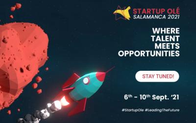 Instituto Internacional de Intraemprendimiento e Innovación presente con stand propio en Startup Olé, Salamanca 2021